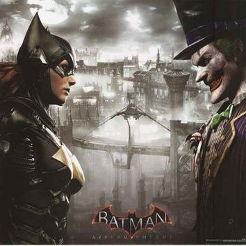 Batman Arkham Knight Faceoff Video Game Poster 22x34