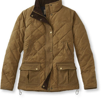 Bean's Upcountry Waxed-Cotton Down Jacket | Free Shipping at L.L.Bean
