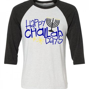 Happy Challa Days Funny Hannukah Matching Family Shirts