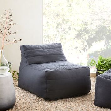 Channeled Bean Bag Chair