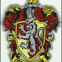 GRYFFINDOR HARRY POTTER HOGWARTS  PATCH HIGH QUALITY IRON/SEW ON