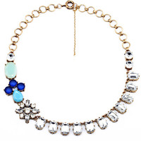 Crystal Choker Statement Necklace