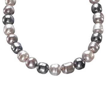 Majorica Multi-Colored Organic Man-Made Pearl Necklace