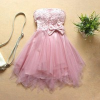 Princess Sweetheart Mini Prom Dress/Homecoming Dress