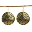 Golden Sun Earrings - India