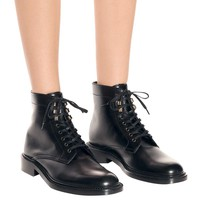Army 25 leather ankle boots