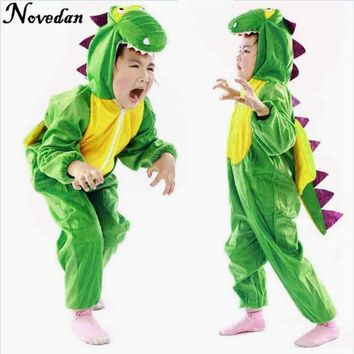 Boy Girl Cute Cartoon Animal Dinosaur Costume Cosplay Clothing For Kids Baby Children's Day Costumes