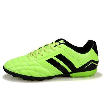 Hard Count Boy Kids Men Football Boots Turf Soccer Shoes Trainers Sports Sneakers Shoes Soccer Cleats Shoes Size 33-44