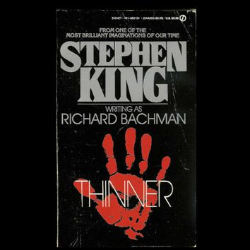 Thinner by Richard Bachman (Paperback)