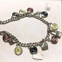LV Louis Vuitton Woman Fashion Logo Bracelet For Best Gift