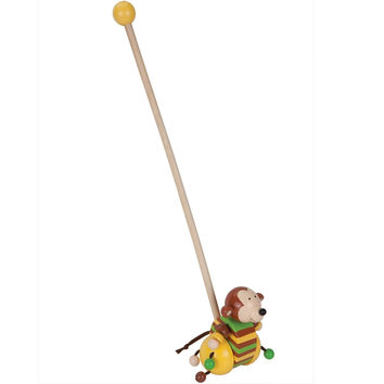 Monkey Push Along Toy