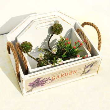 Wooden Style Home Storage Small Size Decoration Box [6282957702]
