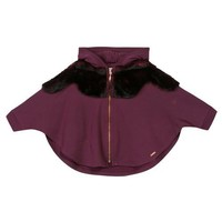 Junior Gaultier Baby Girls Plum Sweater