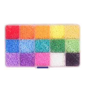 Pegboard Hama Peas Beads Jigsaw Puzzle Educational Toys