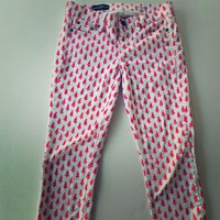 J Crew Cropped Matchstick Jeans Thistle Size 25
