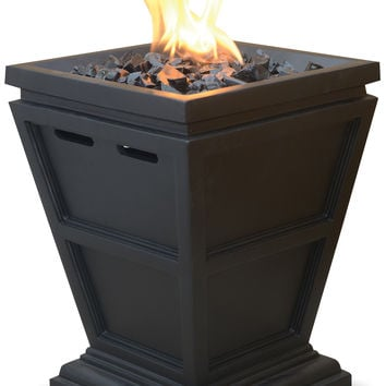 UniFlame GLT1343SP LP Gas Fireplace - Table Top
