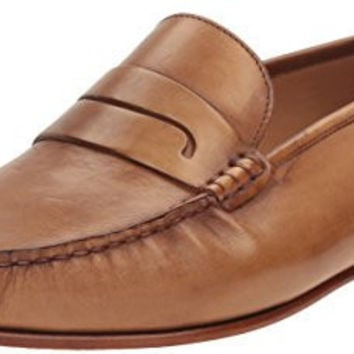 MEZLAN MENS PAULI SLIP-ON LOAFER, TAN, 11 M US