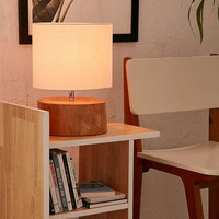 Tristin Wood Table Lamp - Urban Outfitters