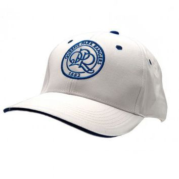 Queens Park Rangers Baseball Cap White Hat Official Licensed Football Product