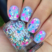 Plastic Doll House: Glitter Topper Nail Polish by Glitter Lambs