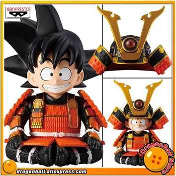 "Japan Anime ""Dragon Ball"" Original Banpresto May Dolls Collection Figure - Son Goku Samurai Suit Ver. B"