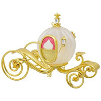 Disney Cinderella's Carriage Glass and Metal Ornament