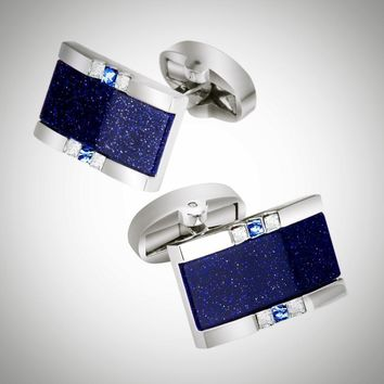 Luxury Star Stone Cuff-links for Men
