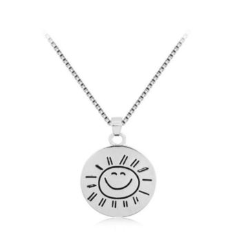 DCCKUNT Creative You Are My Sunshine Sun Pendant Necklace Great Gifts