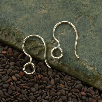 French Ear Wire with Loop