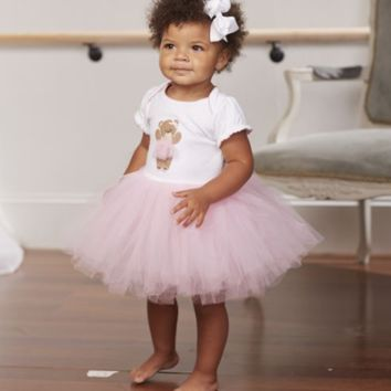 Tutu Dress with Bear