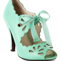 MOJO MOXY SHOES, BARBIE PEEP TOE PUMP