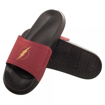 Flash Logo Unisex Black Slide