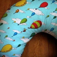 Dr Seuss Boppy Cover, Oh The Places Youll Go Designer Nursing Slip Cover