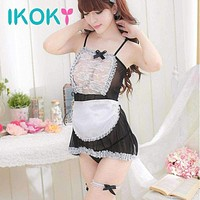5Pcs/Set Classical Maid Lace Miniskirt Exotic Costumes Underwear Cosplay Sexy Lingerie Macchar Cosplay Catalogue