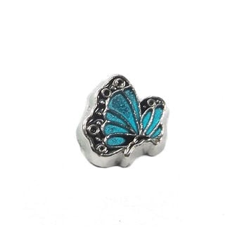 Monarch Butterfly Floating Charm