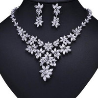 Hot Wedding Bridal Jewelry Set
