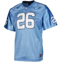 No. 26 North Carolina Tar Heels Nike Youth Replica Football Jersey - Carolina Blue - http://www.shareasale.com/m-pr.cfm?merchantID=7124&userID=1042934&productID=555875856 / North Carolina Tar Heels