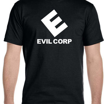 EVIL CORP TEE SHIRT LIKE THE MR. ROBOT