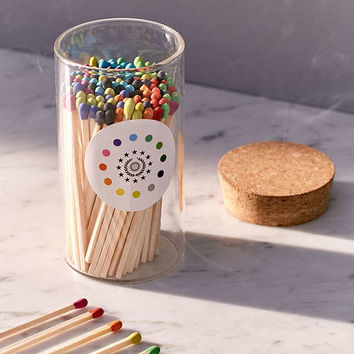 Fredericks & Mae Rainbow Matches Set | Urban Outfitters