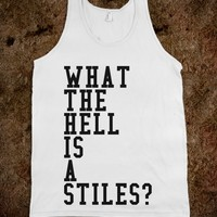 WHAT THE HELL IS A STILES?