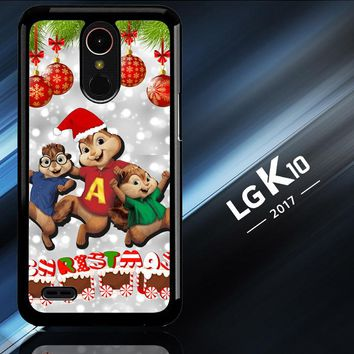 Alvin And The Chipmunks And The Chipettes D0268 LG K10 2017   LG K20 Plus   LG Harmony  Case