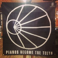 Pianos Become The Teeth - Logo 46x46 Inch Flag