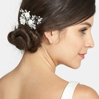 Wedding Belles New York Czech Crystal Rosette Hair Comb