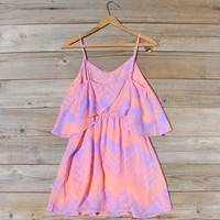 Indian Watercolor Dress in Lilac