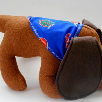 Beagle softie, University of Florida beagle, beagle softie, beagle plushie, team mascot beagle,brown,stuffed animal toy