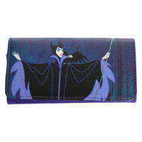 Disney Sleeping Beauty Maleficent Flap Wallet