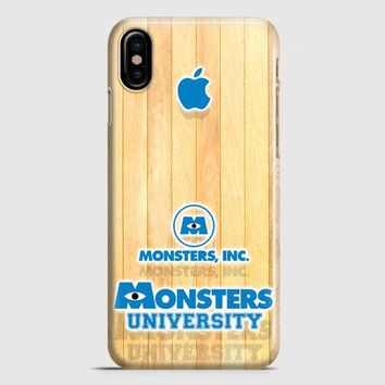Monster Inc Logo iPhone X Case