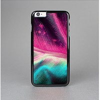 The Neon Pink & Green Leaf Skin-Sert for the Apple iPhone 6 Skin-Sert Case