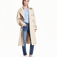 H&M Cotton Trenchcoat $69.99