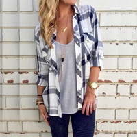 Avery Autumn Long Sleeve Plaid Shirt